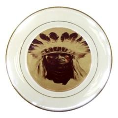 Indian Porcelain Plates