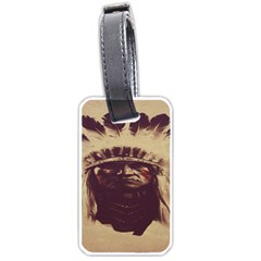 Indian Luggage Tags (one Side)