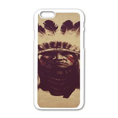 Indian Apple Iphone 6/6s White Enamel Case