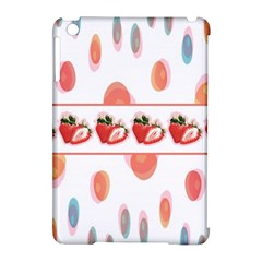 Strawberries Apple Ipad Mini Hardshell Case (compatible With Smart Cover) by SuperPatterns
