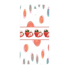 Strawberries Samsung Galaxy Alpha Hardshell Back Case by SuperPatterns