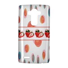 Strawberries Lg G4 Hardshell Case by SuperPatterns