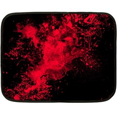 Red Smoke Fleece Blanket (mini) by berwies