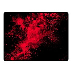 Red Smoke Double Sided Fleece Blanket (small)  by berwies