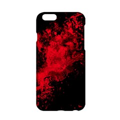 Red Smoke Apple Iphone 6/6s Hardshell Case by berwies