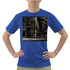 Blacktechnology Circuit Board Electronic Computer Dark T Shirt