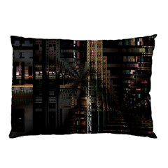 Blacktechnology Circuit Board Electronic Computer Pillow Case