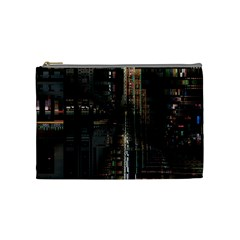 Blacktechnology Circuit Board Electronic Computer Cosmetic Bag (medium)  by BangZart