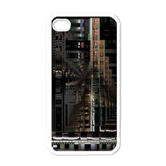 Blacktechnology Circuit Board Electronic Computer Apple Iphone 4 Case (white)