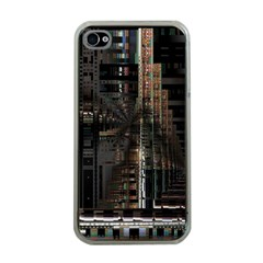Blacktechnology Circuit Board Electronic Computer Apple Iphone 4 Case (clear)