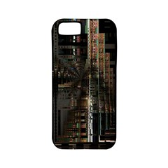 Blacktechnology Circuit Board Electronic Computer Apple Iphone 5 Classic Hardshell Case (pc+silicone) by BangZart