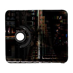 Blacktechnology Circuit Board Electronic Computer Galaxy S3 (flip/folio) by BangZart