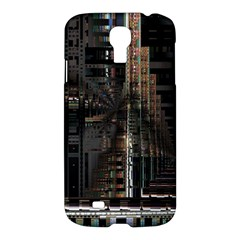 Blacktechnology Circuit Board Electronic Computer Samsung Galaxy S4 I9500/i9505 Hardshell Case