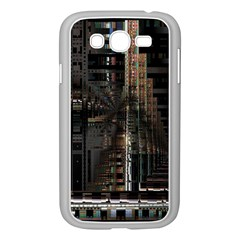Blacktechnology Circuit Board Electronic Computer Samsung Galaxy Grand Duos I9082 Case (white) by BangZart