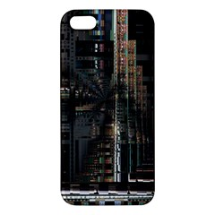 Blacktechnology Circuit Board Electronic Computer Iphone 5s/ Se Premium Hardshell Case