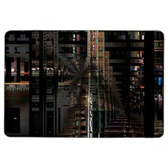 Blacktechnology Circuit Board Electronic Computer Ipad Air 2 Flip by BangZart