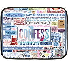 Book Collage Based On Confess Fleece Blanket (mini) by BangZart