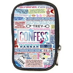 Book Collage Based On Confess Compact Camera Cases