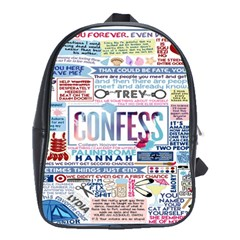 Book Collage Based On Confess School Bags(large)