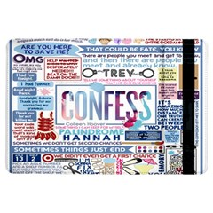 Book Collage Based On Confess Ipad Air Flip by BangZart