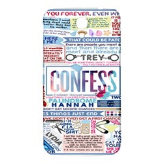 Book Collage Based On Confess Samsung Galaxy Mega I9200 Hardshell Back Case