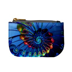 Top Peacock Feathers Mini Coin Purses