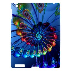 Top Peacock Feathers Apple Ipad 3/4 Hardshell Case by BangZart
