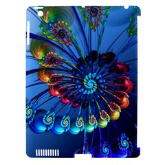 Top Peacock Feathers Apple Ipad 3/4 Hardshell Case (compatible With Smart Cover)