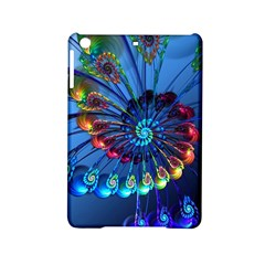 Top Peacock Feathers Ipad Mini 2 Hardshell Cases by BangZart