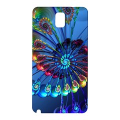 Top Peacock Feathers Samsung Galaxy Note 3 N9005 Hardshell Back Case