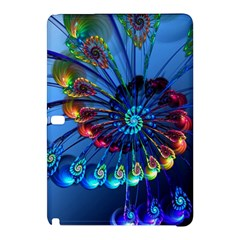 Top Peacock Feathers Samsung Galaxy Tab Pro 10 1 Hardshell Case