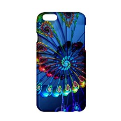 Top Peacock Feathers Apple Iphone 6/6s Hardshell Case
