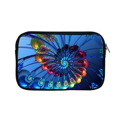 Top Peacock Feathers Apple Macbook Pro 13  Zipper Case by BangZart