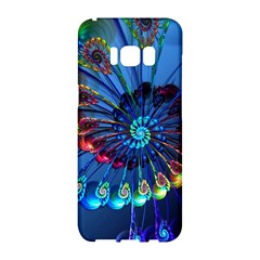 Top Peacock Feathers Samsung Galaxy S8 Hardshell Case