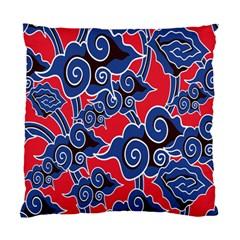 Batik Background Vector Standard Cushion Case (two Sides)