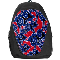 Batik Background Vector Backpack Bag