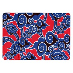 Batik Background Vector Samsung Galaxy Tab 8 9  P7300 Flip Case