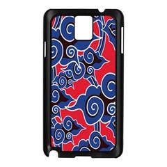 Batik Background Vector Samsung Galaxy Note 3 N9005 Case (black)