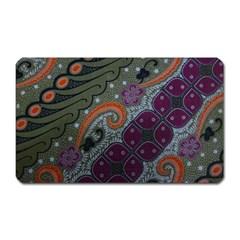 Batik Art Pattern  Magnet (rectangular)