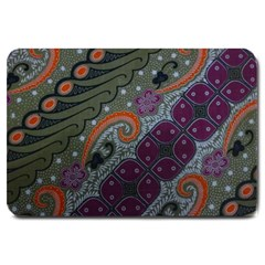 Batik Art Pattern  Large Doormat