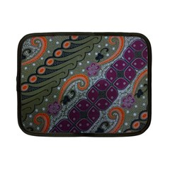 Batik Art Pattern  Netbook Case (small)