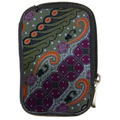 Batik Art Pattern  Compact Camera Cases by BangZart