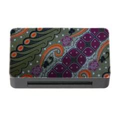 Batik Art Pattern  Memory Card Reader With Cf
