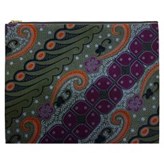 Batik Art Pattern  Cosmetic Bag (xxxl)