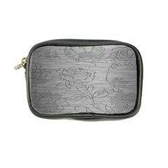 Embossed Rose Pattern Coin Purse