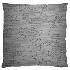 Embossed Rose Pattern Large Cushion Case (one Side) by BangZart
