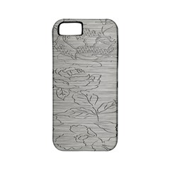 Embossed Rose Pattern Apple Iphone 5 Classic Hardshell Case (pc+silicone) by BangZart