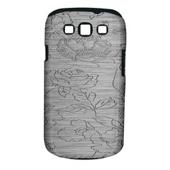 Embossed Rose Pattern Samsung Galaxy S Iii Classic Hardshell Case (pc+silicone)
