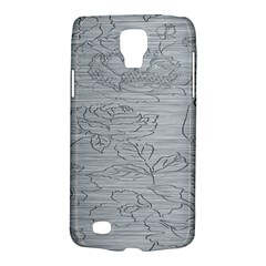 Embossed Rose Pattern Galaxy S4 Active