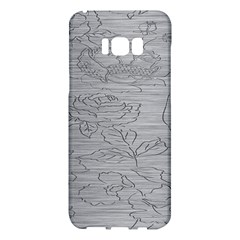 Embossed Rose Pattern Samsung Galaxy S8 Plus Hardshell Case